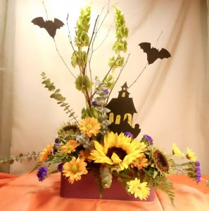 Witch Way 4 Candy? Halloween Bouquet in White Oak, PA | Breitinger's Flowers & Gifts