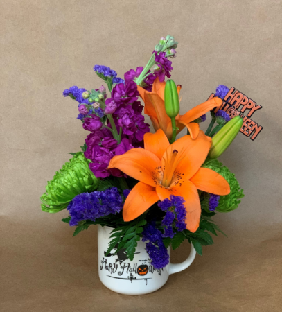 Witchin' Halloween Bouquet