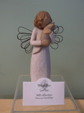 """WITH AFFECTION"" WILLOW TREE ANGEL"
