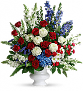 With Distinction Bouquet Funeral Sympathy