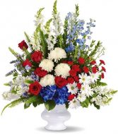 WITH DISTINCTION PATRIOTIC ARRANGEMENT