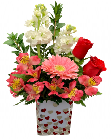 With Every Beat of My Heart Valentine Arrangement