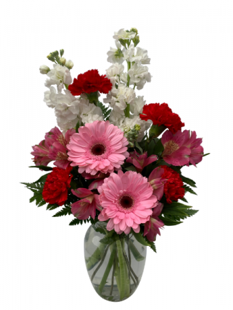 Delightful Blooms Vase Arrangement