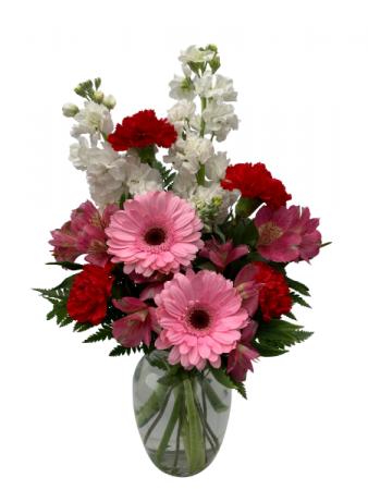 Delightful Blooms Vase Arrangement