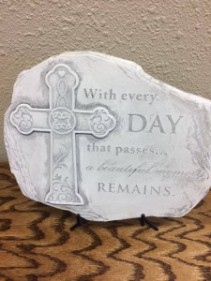 With Every Day  Keepsake Stone