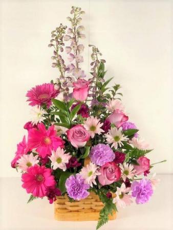 With Gratitude Garden Basket PFD 507 - Standard, Deluxe or Premium