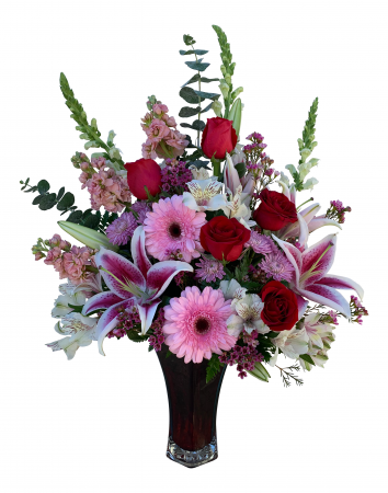 Majestic Love Vase  Arrangement