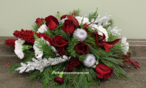 With Love for Christmas One of a kind table center