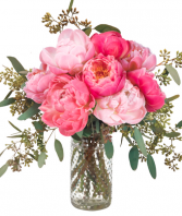 WITH LOVE PEONIES  BOUQUET