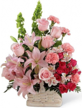 With our deepest condolences  Flower design ideas only offered in standard size