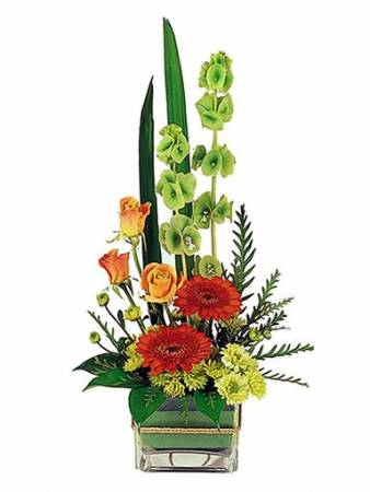 With sincerest condolences  Flower design ideas only offered in standard size as shown