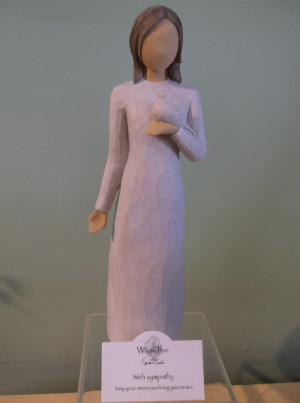"""WITH SYMPATHY"" WILLOW TREE FIGURINE  in Springfield, VT 