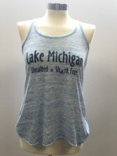 Women's Blue Tank Top