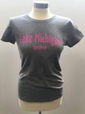 Women's Gray Tshirt Front