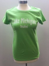 Women's Green Tshirt Front