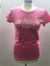 Women's Pink Tshirt Front