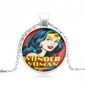 Wonder Woman #46 18 inch silver plated necklace