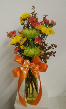 Wonderful Mom Bouquet Vase Arrangement