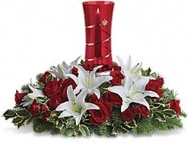 Wonderful Night Centerpiece Candle Centerpiece Local Delivery Only