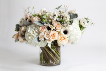 Wonderful time  Anemones roses hydrangeas more