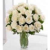 Wonderful White 2 Dozen White Roses