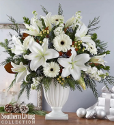 Wonderful Winter Pedestal by Southern Living® Arrangement