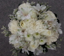 Wonderous White Wedding Bouquet