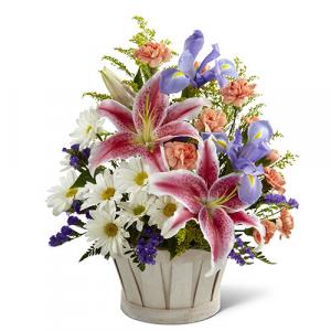 Wondrous Nature Basket - C12-4400  in Kanata, ON | Brunet Florist
