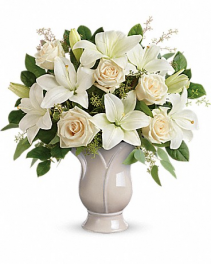 Wondrous White Flower Bouquet