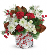 Wondrous Winterberry Floral Bouquet