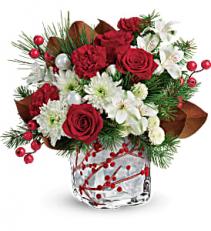 Wondrous Winterberry Winter arrangement