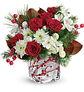 Wondrous Winterberry Winter arrangement