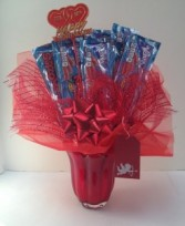 Wonka Vase Candy Bouquet