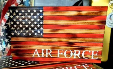 Wood Flag Air Force