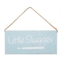 Wood Sign Little Slugger