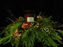 WoodWick   Holiday Centerpiece