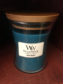 Wood Wick candle  Dew drops
