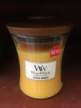 Wood Wick candle Seaside mimosa