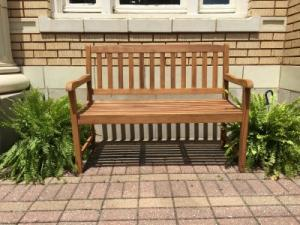 Wooden Bench  in Huntingburg, IN | GEHLHAUSEN'S FLOWERS GIFTS