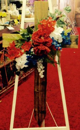 Wooden cross d Memorial