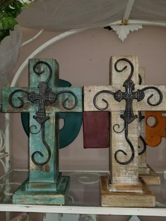 Wooden Cross Sympathy