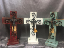 Wooden Crosses (NEW ITEM)