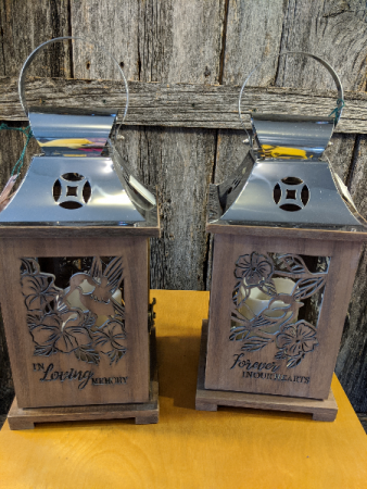 Wooden cut out lanterns Gift item