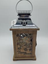 Wooden lantern Giftware