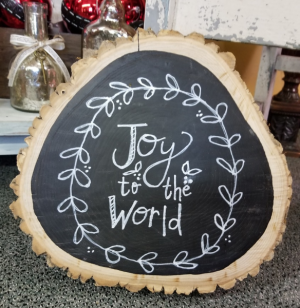Wooden Original Art Wall Hanging in Bolivar, MO | The Flower Patch & More