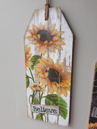 Wooden Sign Giftware