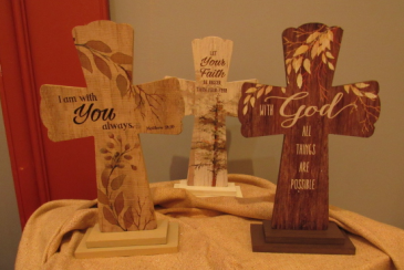 Wooden Standing Cross