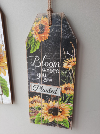 Wooden tag Sign Giftware