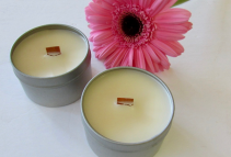 Wooden Wicked Eco Soy Candle 6oz.