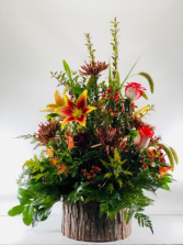 Woodland Autumnal  Container Arrangement
